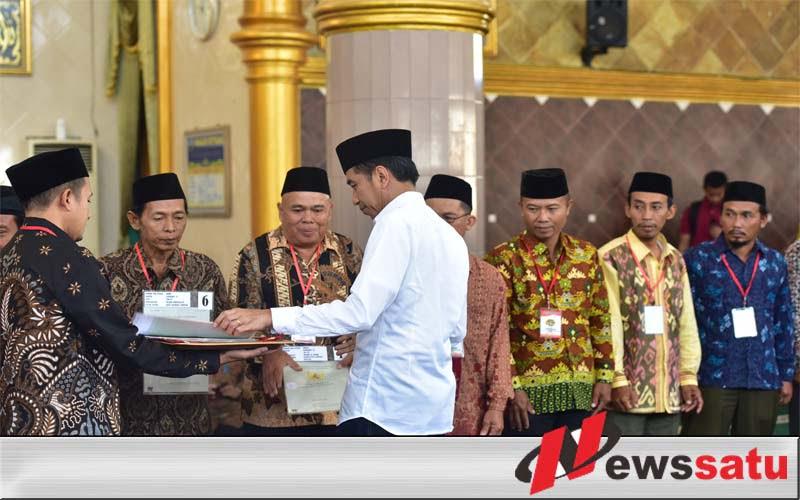 Presiden Jokowi Tegaskan Tak Ada Kriminalisasi Ulama