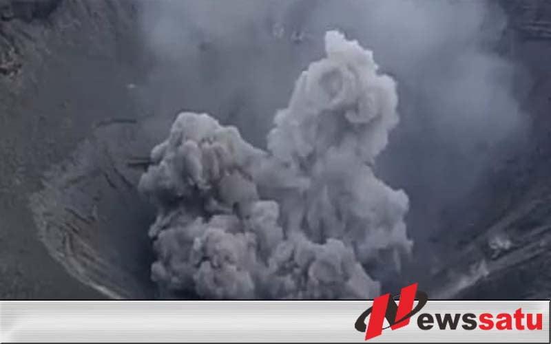Puluhan Desa Di Probolinggo Terpapar Abu Vulkanik Gunung Bromo