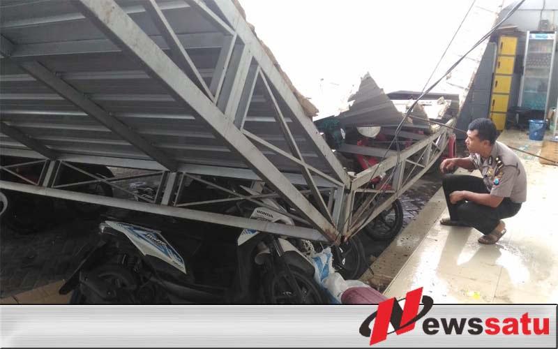 Puting Beliung Terjang Kecamatan Kota Sumenep