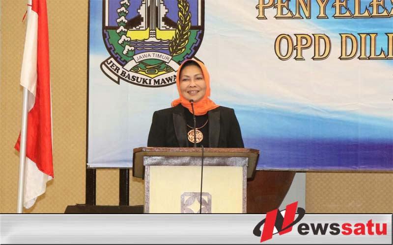 Wali Kota Batu Hadiri Monitoring Kenaikan Pangkat se Jawa Timur