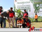 Warga Binaan Rutan Klas IIB Sumenep Tanam Puluhan Ribu Pohon