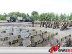 Armed 12 Kostrad Siap Kawal Pemilu Ngawi