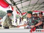 Danrem 083 Baladhika Jaya Hadiri HUT ke-58 Divisi Infanteri-2 Kostrad
