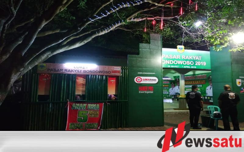 Bayar Dulu Baru Bisa Liat Pasar Rakyat di Bondowoso