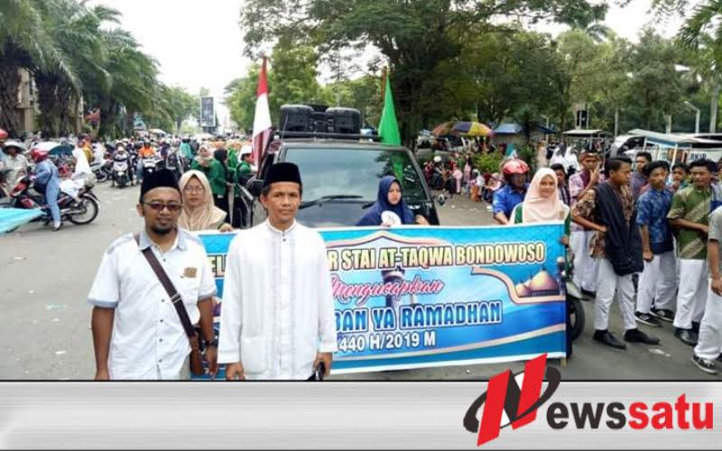 Sambut Ramadan, Ribuan Pelajar di Bondowoso Gelar Pawai Ta'ar