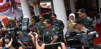 Panglima TNI Pimpin Pembukaan Latsitardanus ke-XXXIX di Jatim