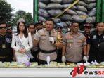 Polda Metro Jaya Ungkap Jaringan Narkoba Internasional Dan Sita 120 Kg Narkoba