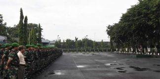 Prajurit Kasrem 084 Bhaskara Siap Amankan Pemilu 2019
