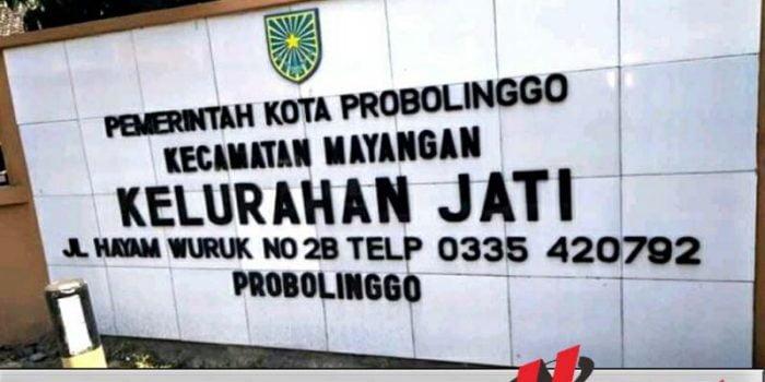 Staf Kelurahan Jati Kota Probolinggo Diduga Tilap Uang Setoran Pajak Warga