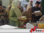 Bupati Busyro Buka Bazar Takjil Ramadhan