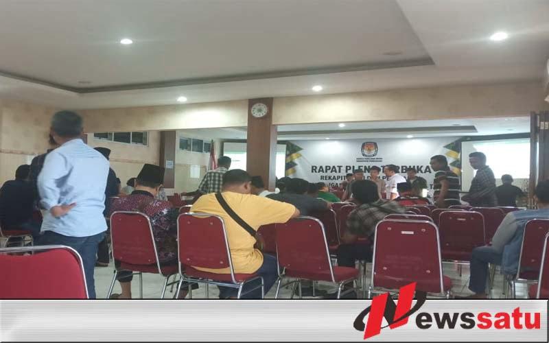 Caleg DPR RI Di Pamekasan Protes Hasil Suara Dalam Pemilu Hilang