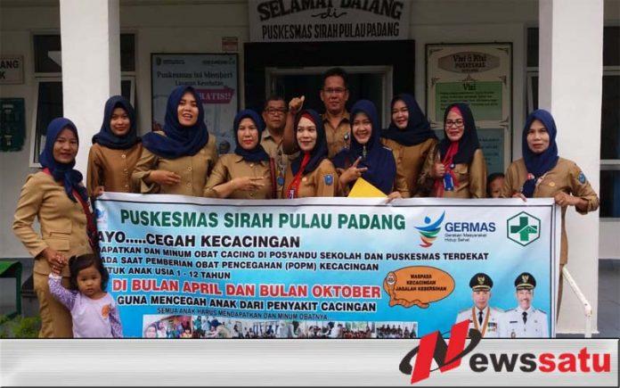 Cegah Penyakit Cacingan, Puskesmas SP Padang Gencar Lakukan Penyuluhan