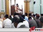 Dandim 0831 Surabaya Timur Khutbah di Masjid Roudlotul Jannah Surabaya