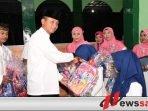 Danrem Bhaskara Jaya Buka Puasa Bersama anak Yatim Piatu di Sidoarjo