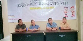 Bawaslu OKI Limpahkan Berkas Perkara Pemilu ke Pihak Kepolisian