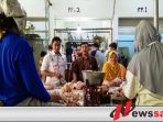 Jelang Ramadhan, Tim Satgas Pangan Bondowoso Gelar Operasi Pasar