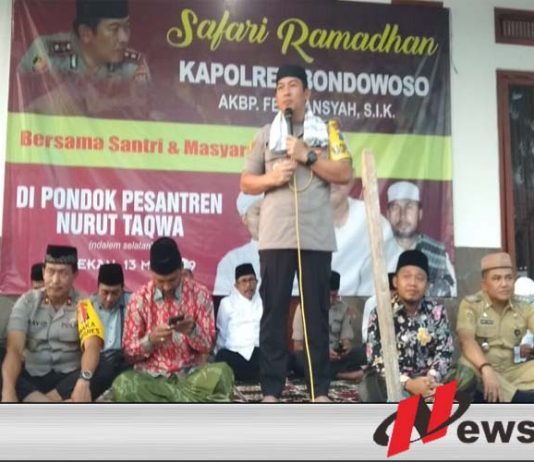 Kapolres Bondowoso Minta Masyarakat Tidak Terprovokasi Isu People Power
