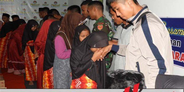 Laskar Muda Armed 12 Kostrad Salurkan Bantuan ke Panti Asuhan