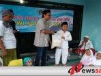 PWI Sumenep Berbagi Dengan Anak Yatim