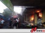Pasar Anom Baru Sumenep Terbakar