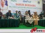 Pemkab Bondowoso Sahur Bersama Istri Gusdur