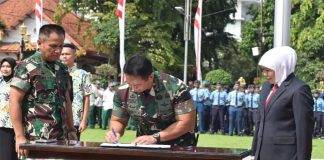Pemprov Jatim dan TNI-AD Kerjasama Wujudkan SMA Unggulan