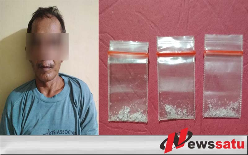 Polres OKI Tangkap Seorang Petani Saat Hendak Transaksi Narkoba