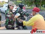 Srikandi Kowad Korem Bhaskara Jaya Bikin Geger Jalanan Frontage Surabaya-Sidoarjo
