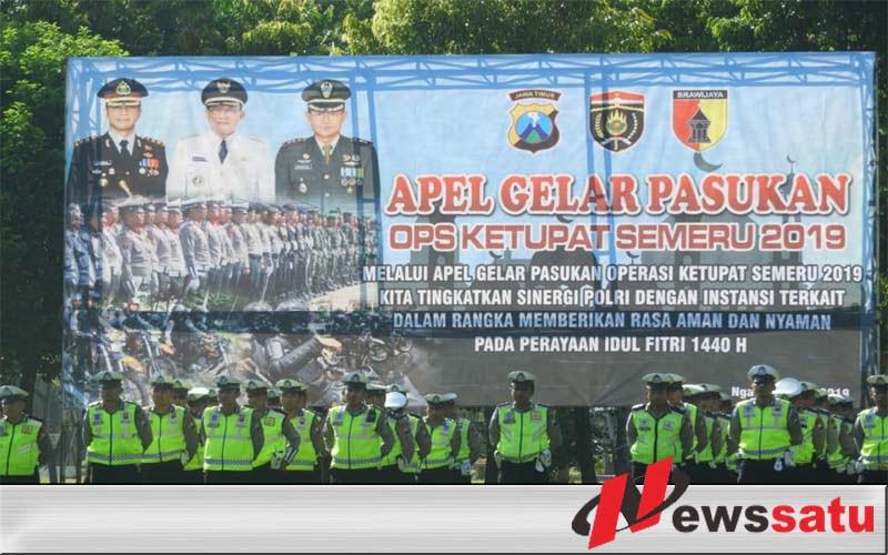 TNI-Polri Di Ngawi Pastikan Kesiapan Pengamanan Idul Fitri
