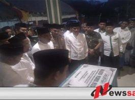 Wakil Bupati OKI Gelar Safari Ramadan di Masjid Nurul Huda Mekar Wangi