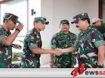 Danrem 083 Baladhika Jaya Dampingi Kunjungan Pejabat Tinggi TNI-Polri
