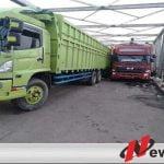 Jalan Sumsel Lampung Lumpuh