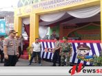 Kapolres Bondowoso Periksa Kesiapan PosPam Lebaran 2019