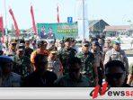 Panglima TNI dan Kapolri Tinjau Jalan Tol di Kabupaten Ngawi