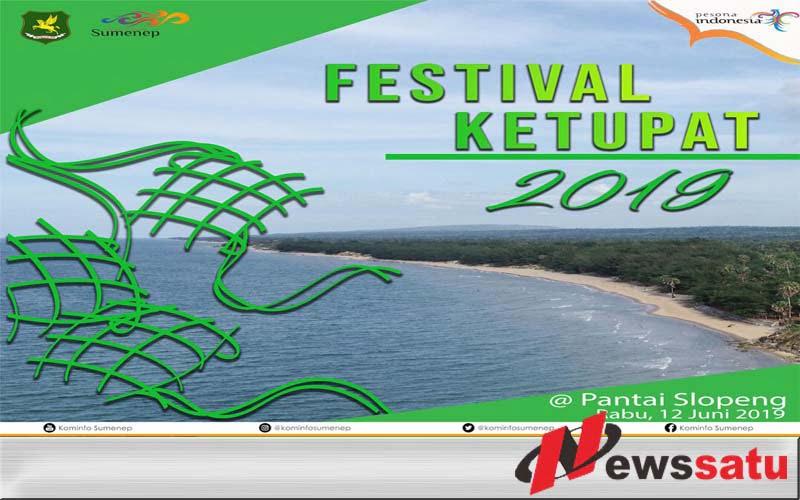 Pemkab Sumenep Gelar Festival Ketupat 2019 Di Pantai Slopeng