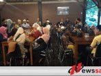 Pengiat Desa Kabupaten Bondowoso Berikan Santunan Anak Yatim