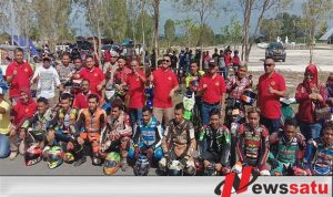 Puluhan Pembalap Di Kabupaten Buru Ikuti Road Race