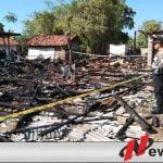 Rumah Warga Pademawu Pamekasan Terbakar