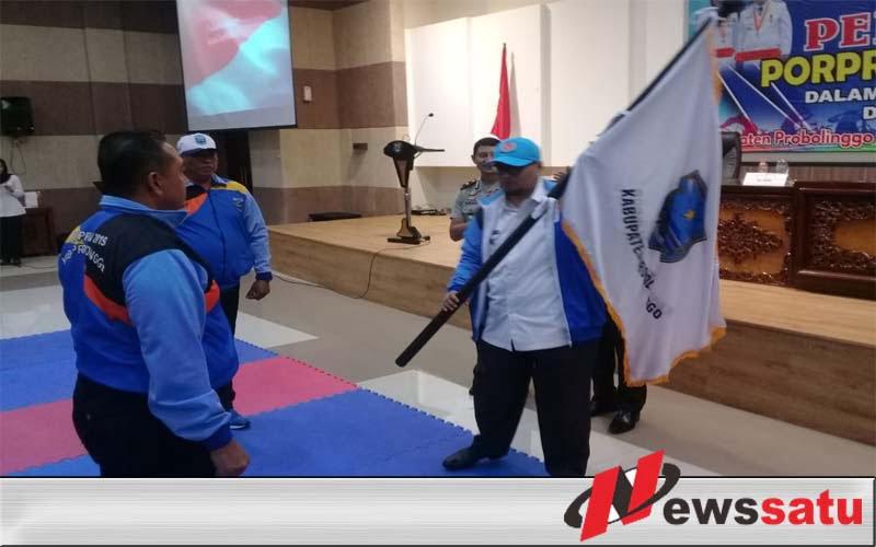 141 Atlet Dilepas Pemkab Probolinggo