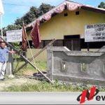 Balai Desa Selwadu Kabupaten Buru Disegel Warga