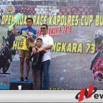Inilah Juara Open Road Race Polres Buru Cup 2019