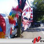 Jelang HUT Kemerdekaan, Pedagang Bendera Di Probolinggo Bermunculan