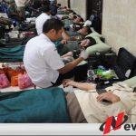 Prajurit TNI Korem 082 CPYJ Sumbangkan Darah