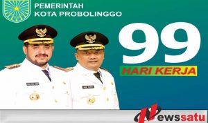 Walikota Probolinggo Buktikan Dengan 99 Hari Kerjanya