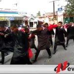"""Ada """"Drakula"""" Ikut Gerak Jalan Di Ogan Komering Ilir"""