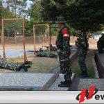 Korem Bhaskara Jaya Tingkatkan Kemampuan Anggotanya Dalam Menembak