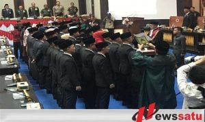 45 Anggota DPRD Ogan Komering Ilir Dilantik