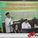 Bupati Salwa Ajak Pengurus Masjid Tolak Kelompok Redikal