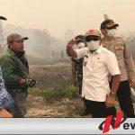 Cek Karhutlah, Bupati OKI Minta Perusahaan Peduli Areal Sekitar
