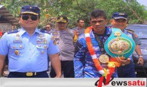 Juara WBC Asian BCC Di Singapura Pulkam Ke Buru